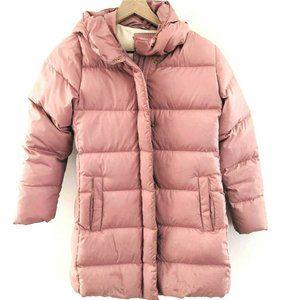 Crewcuts Down Filled Pink Puffer Coat w/Hood 12